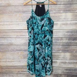 Jennifer Lopez Floral Ruffled Summer Sun Dress